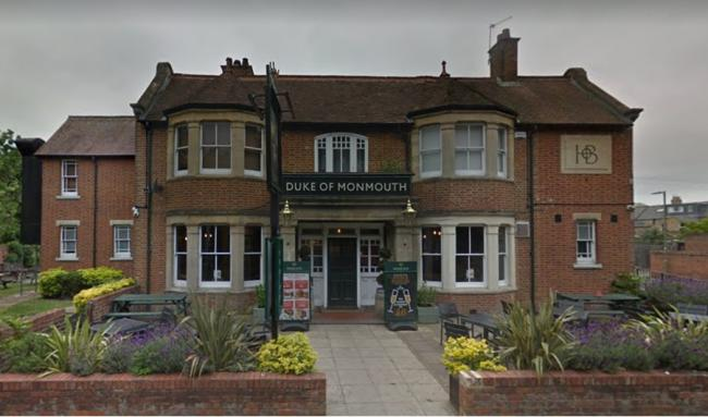 The Duke of Monmouth in Oxford. Picture: Google Maps