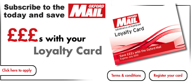 £300 Oxford Mail loyalty card rollover
