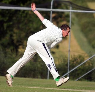 Andy Clarke took 3-34 in Westbury's three-wicket win against Minster Lovell in Division 1