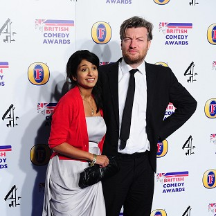 Konnie Huq and Charlie Brooker have announced the birth of their baby son