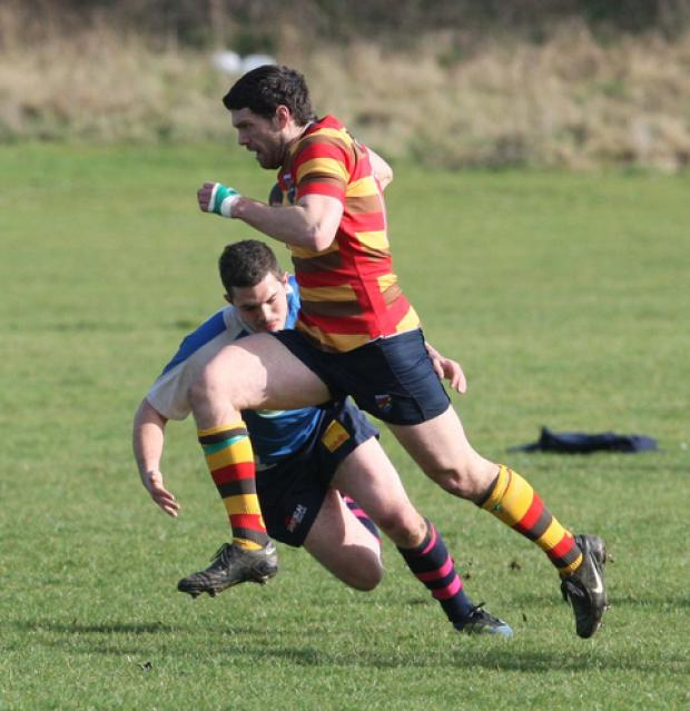 Dave Hampton broke his jaw against Dorset & Wilts at Banbury