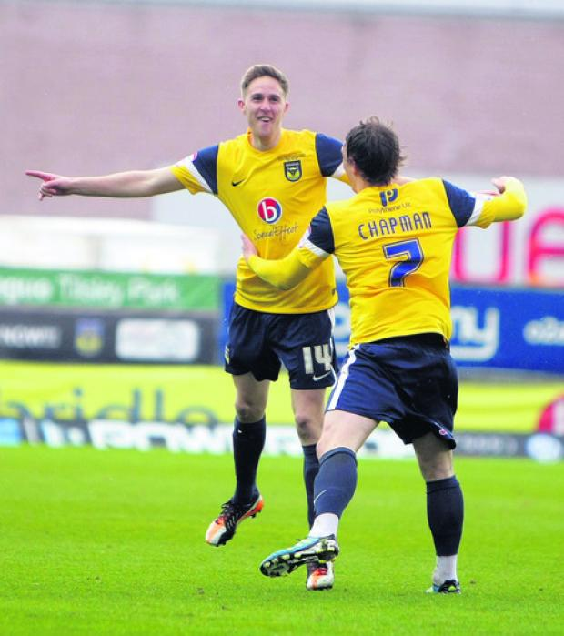 Deal or no deal?: Asa Hall (left) and Adam Chapman will find out today if they will be offered new contracts