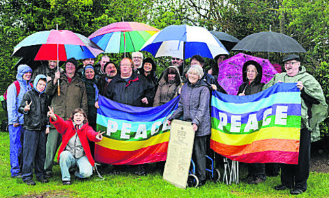 Upper Heyford peace campaigners return after 30 years