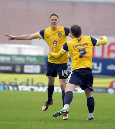 Asa Hall (left) and Adam Chapman will find out today if they will be offered new contracts for next season