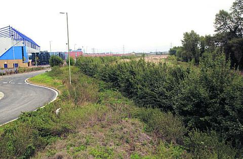 Possible development: Land next to Grenoble Road