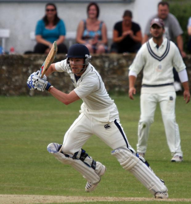 Westbury's Harry Smith hit 60 in their Airey Cup second round win against Minster Lovell on Saturday