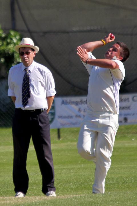 Twyford's Adam Bone took 4-57 and later hit an unbeaten 30 to guide them to a three-wicket win against Wolverton Town in Division 2 on Saturday