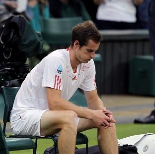 Bicester Advertiser: Andy Murray after losing to Switzerland's Roger Federer in the men's singles final at Wimbledon