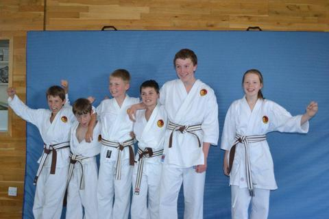 Successful members of Can Do Martial Arts
