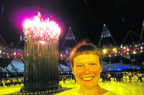 Eileen Naughton was a drummer at the Olympics' opening ceremony