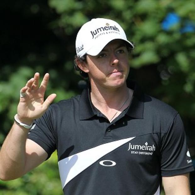 Rory McIlroy scored an opening round of 67 to be one shot off leader Carl Pettersson