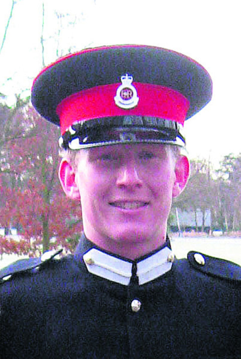 Tributes paid to fallen soldiers Andrew Chesterman and Lance Corporal Matthew Smith