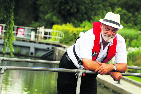 Ian Westwood, the lock keeper at Iffley, where the gates are to be replaced