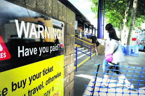Most passengers at Oxford railway station yesterday were critical of the increase in fares      Picture: OX53734 Jon Lewis