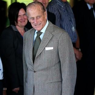 The Duke of Edinburgh leaves Aberdeen Royal Infirmary