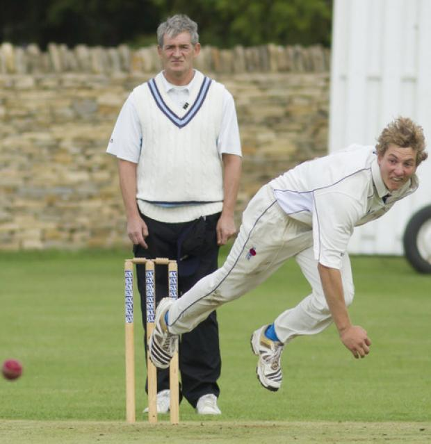 Freddie Simon bagged a hat-trick for Chadlington