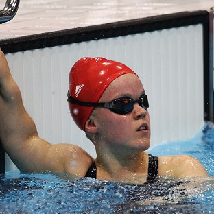Ellie Simmonds will race for gold for the final time tonight in the S6 100m freestyle final