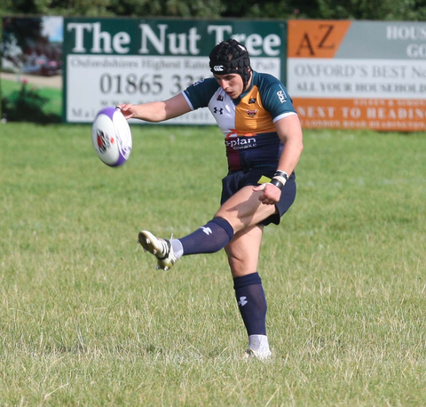 Alex Stevenson kicked a penalty for Oxford Harlequins in their 69-8 defeat at Brixham
