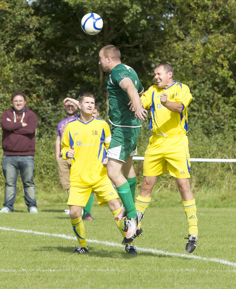 Andy Gledhill scored Launton's goal in the 3-1 defeat by Freeland