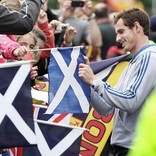 'Unbelievable' support for Murray
