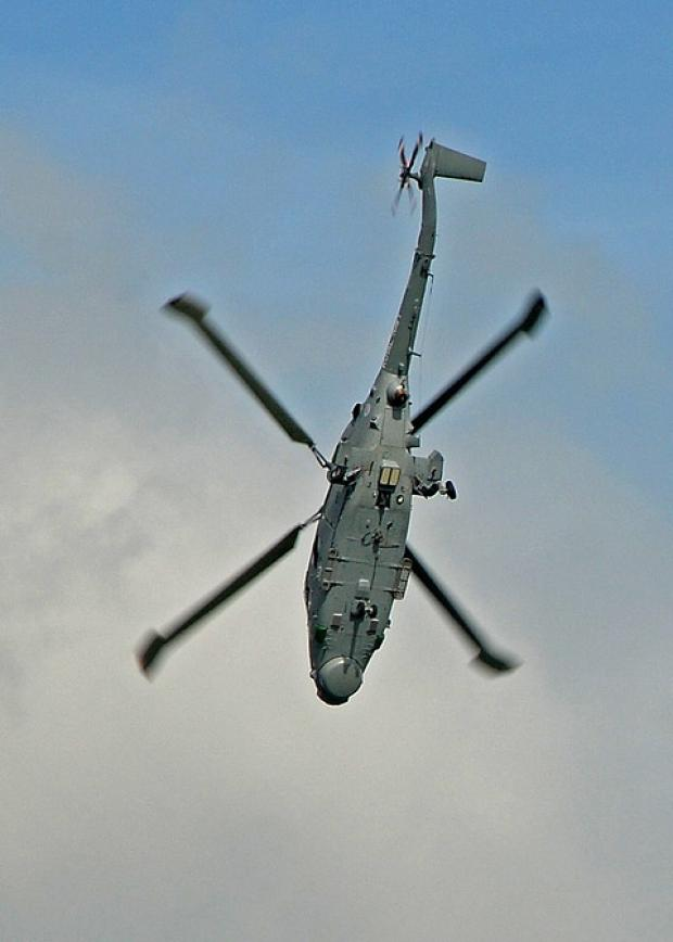 Bicester Advertiser: Lynx helicopter came down in Kandahar province