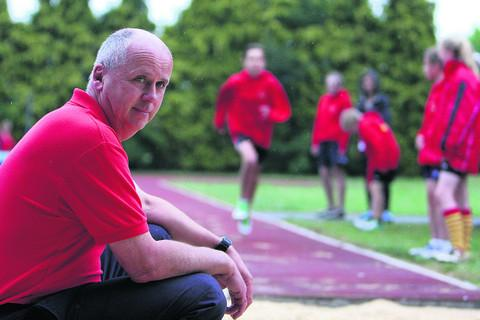 Bicester Athletics Club chairman Steve Flynn