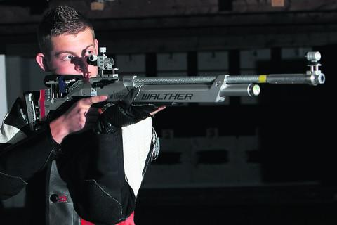 Dan Rivers, 21, attended an Olympic Ambitions programme in London