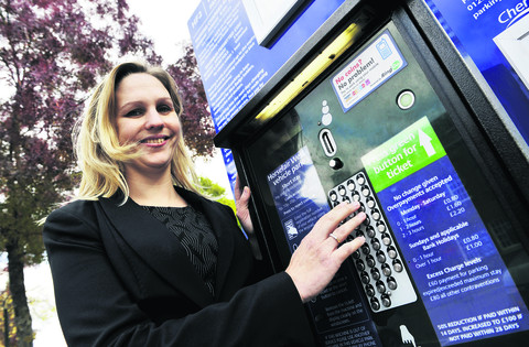 Banbury and District Chamber of Commerce chairman Claire Kingsbury said the three days of free parking over the Christmas period are better than nothing
