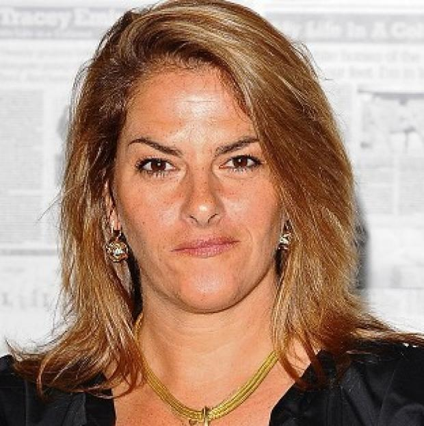 Postcard-sized works by artists including Tracey Emin are being sold at an online charity auction