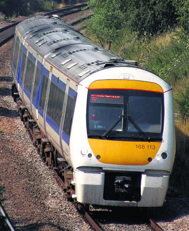 Bicester Advertiser: Oxfordshire rail replacment service at the weekend