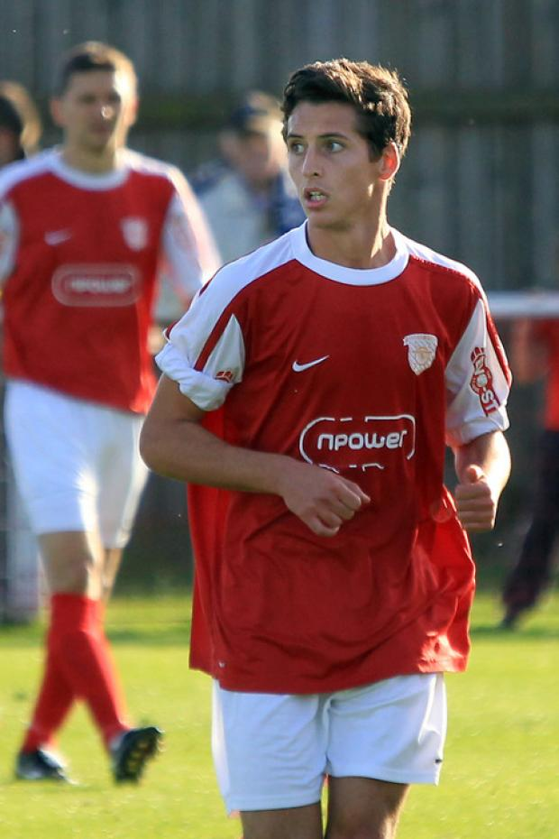 Pablo Haysham scored for Didcot