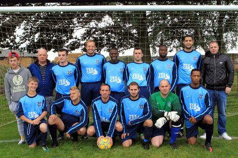 Kidlington Royals, who beat Barton United 8-3 in the Premier League