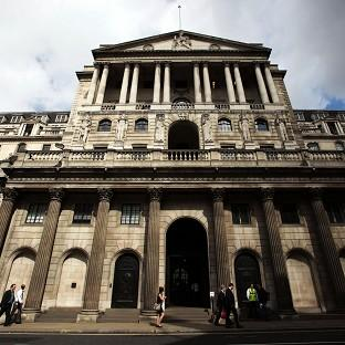 Bicester Advertiser: The Bank of England's quarterly inflation report is expected to show a slight contraction in 2012