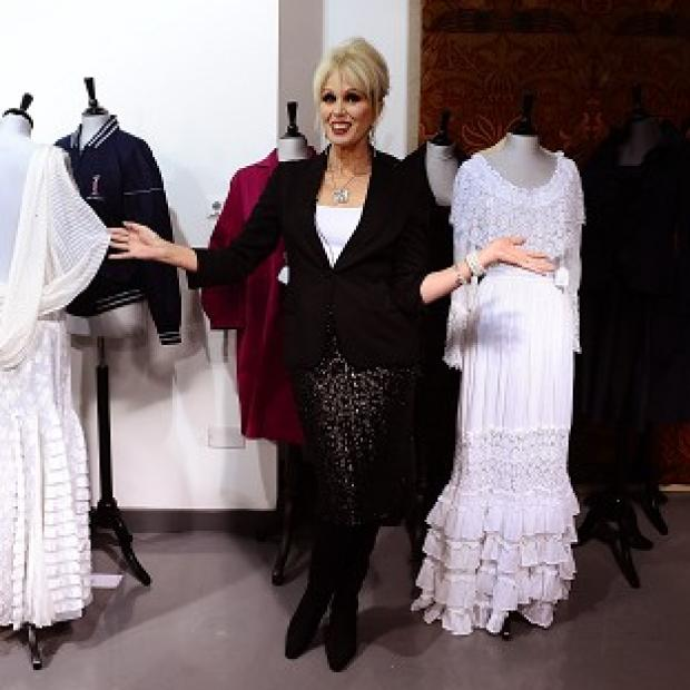 Bicester Advertiser: Joanna Lumley auctioned off the contents of her wardrobe in aid of the Prince's Trust