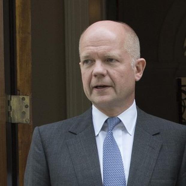 Foreign Secretary William Hague said both sides in the Gaza had a 'responsibility to try to bring this to an end'