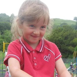 April Jones went missing from Machynlleth in mid Wales in October (Dyfed-Powys Police/PA)