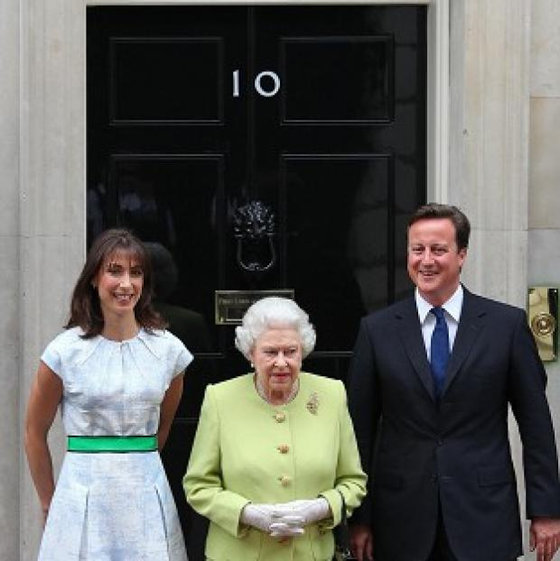 The Queen is visiting 10 Downing Street