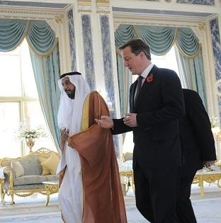 David Cameron undertook a three-day visit to the Gulf states in November