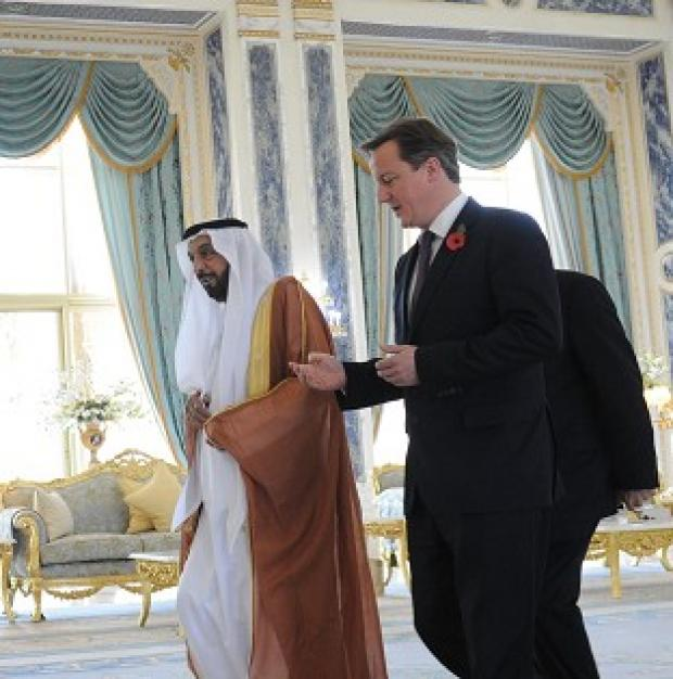 Bicester Advertiser: David Cameron undertook a three-day visit to the Gulf states in November