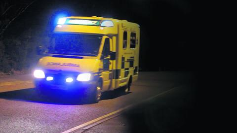 Ambulance call-outs hit a high over the festive period