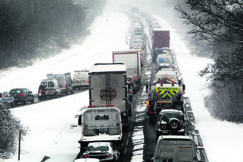 Motorists warned as snow is set to go on
