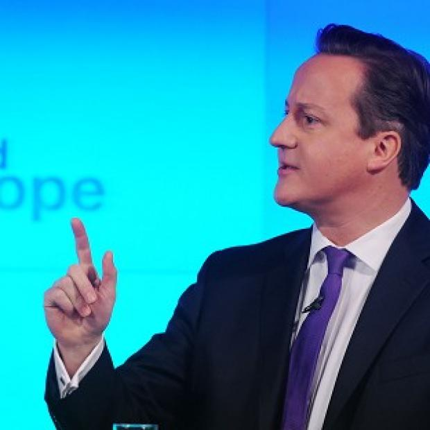 David Cameron says the Tories will hold a referendum on whether Britain should remain a member of the EU if they win the next election