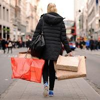 January retail sales were nearly two per cent higher than during the same month last year, the BRC revealed
