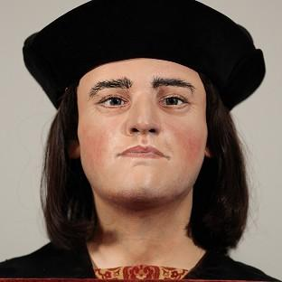 The face of King Richard III