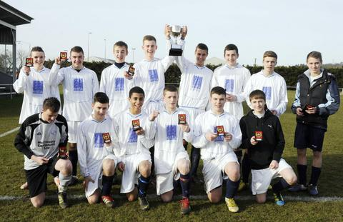 Fitzharrys School with the trophy