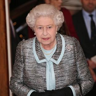 The Queen marked the 150th anniversary of the Tube on a visit to Baker Street Underground station