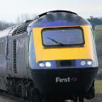 Bicester Advertiser: A First Great Western High Speed Train