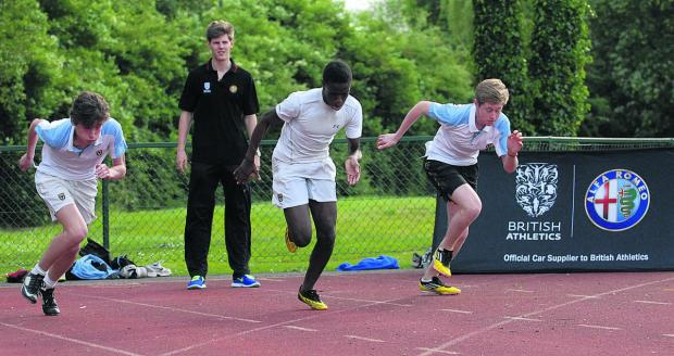 Lawrence Clarke puts pupils at former school Eton through their paces