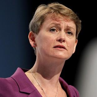 Shadow home secretary Yvette Cooper said it is 'appalling' that DNA evidence from rape suspects is being destroyed
