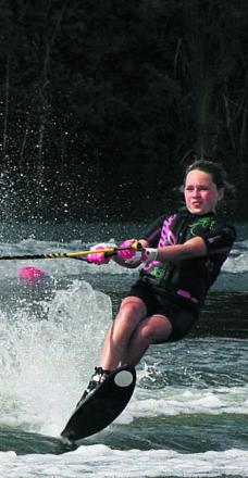WATERSKI-ING: Nutt gets a call-up